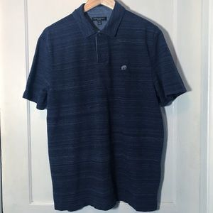 Banana Republic Men Navy Blue Polo Cotton Size XL